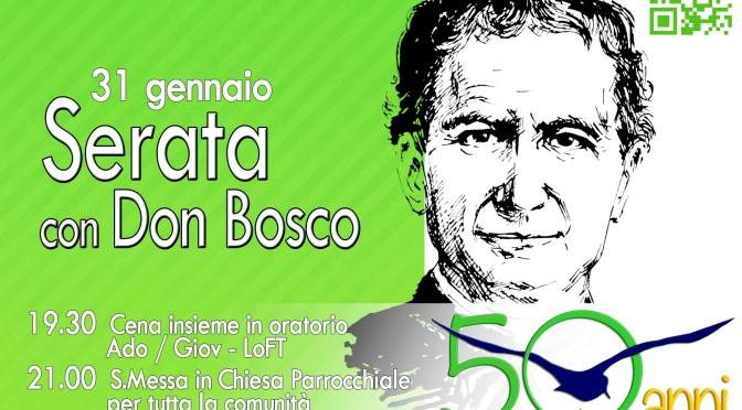Serata con Don Bosco